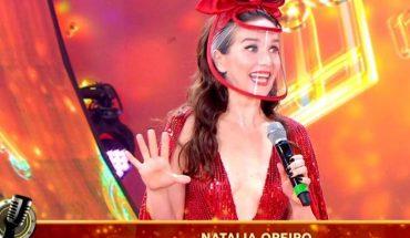 Natalia Oreiro sorprendió con su aparición en la pista del Cantando 2020