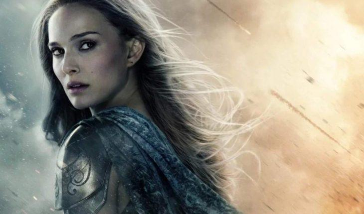 "Natalie Portman dio detalles de ""Thor: Love and Thunder"": ""Empecé a entrenar"""