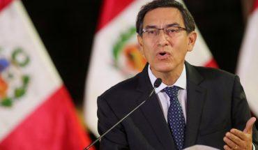 Perú: presentaron una nueva moción de vacancia contra el Presidente Vizcarra