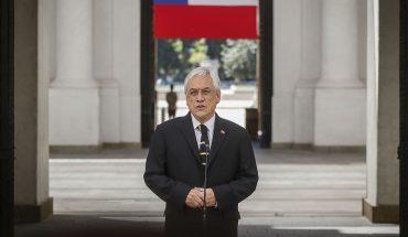"""Piñera expresó sus condolencias por muerte de carabinero en La Araucanía y llamó a """"deponer la violencia"""""""