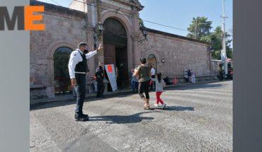 Policía inicia operativo de vigilancia en panteones de Morelia