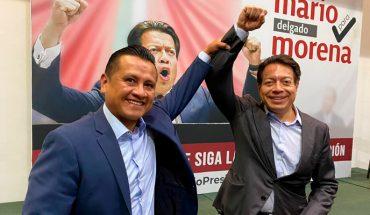 Por respeto a las mujeres, Mario Delgado es la opción para Morena: Torres Piña