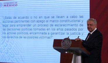 """Pregunta sobre la consulta que planteó la Corte es """"poco clara"""": AMLO"""