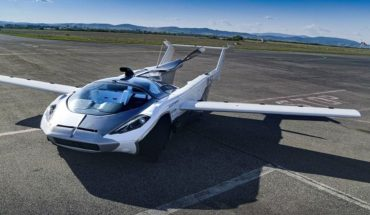 Prueba exitosa del auto volador que despega y aterriza como un avión
