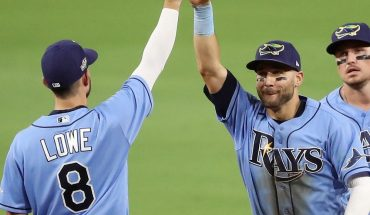 Rays de Tampa Bay pega primero en la Serie de Campeonato de la Americana