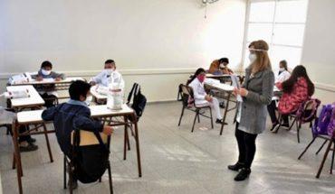 San Luis: iniciaron las clases presenciales luego de casi siete meses