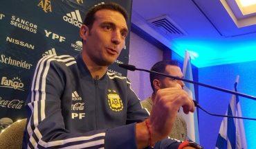 """Scaloni: """"Intentaremos jugar de una manera distinta para sorprender al rival"""""""