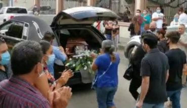 Se despiden del ex alcalde de Apatzingán, César Chávez