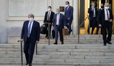 Trump aseguró que fármacos experimentales contra el Covid-19 quizás lo salvaron