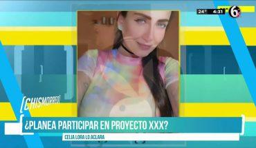 ¿Celia Lora en proyecto XXX? | El Chismorreo