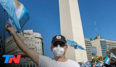 #19S | Masivo banderazo contra el Gobierno en distintos puntos del país