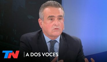 """Agustín Rossi: """"Macri tiene que ir al psicólogo""""   A DOS VOCES"""