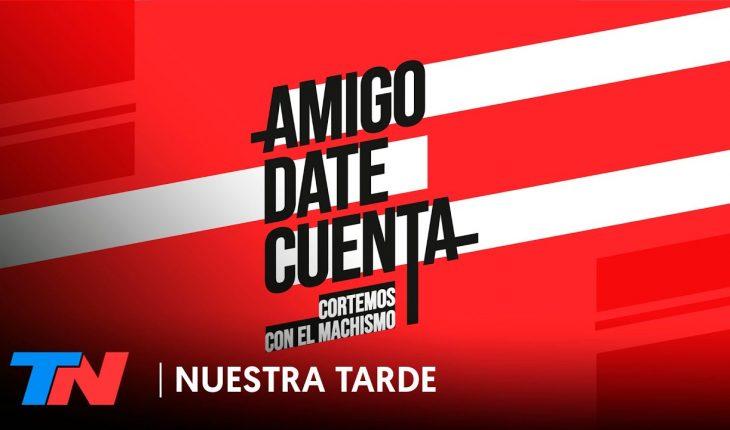 #AmigoDateCuenta: futbolistas argentinos se unen contra el machismo