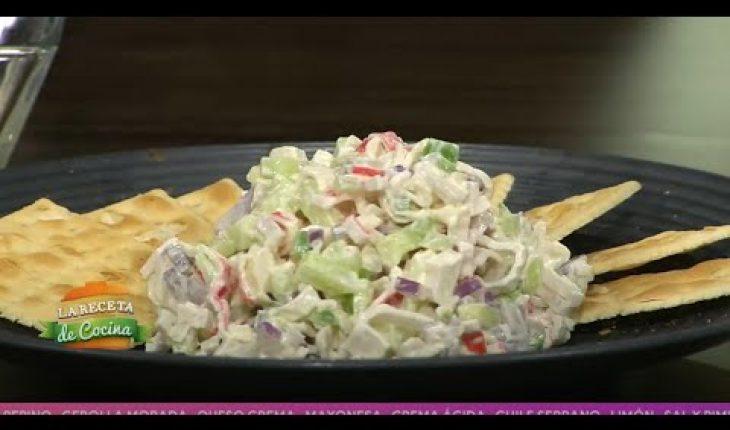 Aprende a preparar ensalada de surimi   Vivalavi