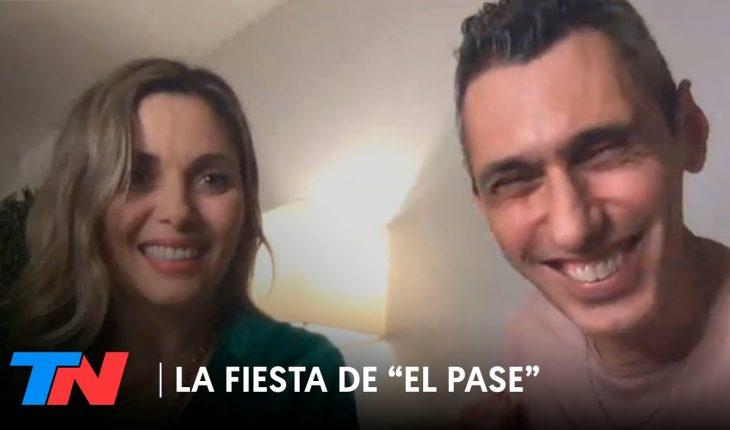 """Cynthia y Darío de """"The Sacados"""" en LA FIESTA DE """"EL PASE"""""""