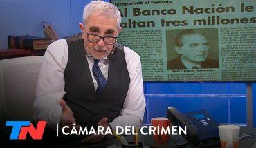 El desarmadero: Mario Fendrich, el robo del siglo y los millones del Banco Nación| CÁMARA DEL CRIMEN