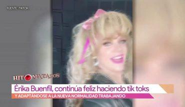Erika Buenfil es fiel a Tik Tok | Vivalavi