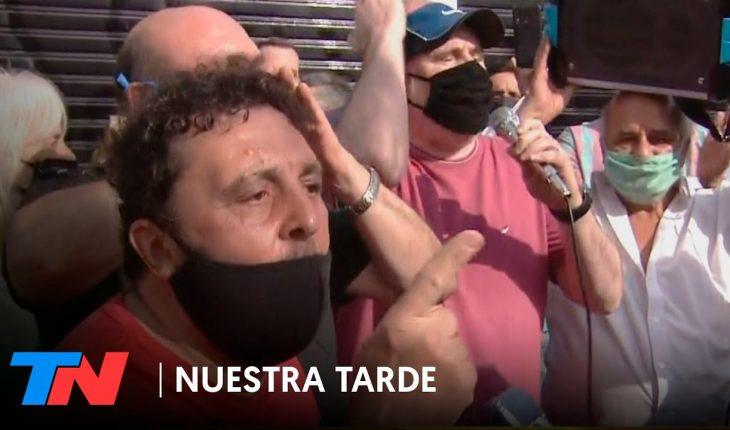 Marcha por el policía asesinado en Ramos Mejía: vecinos piden seguridad y justicia