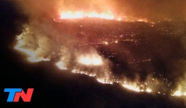 Más incendios en Córdoba: 40 dotaciones de 27 cuarteles de bomberos trabajan en el lugar   FENÓMENOS