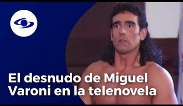 Sandra Reyes recuerda el desnudo de Miguel Varoni en escena de Pedro, el escamoso -Caracol TV