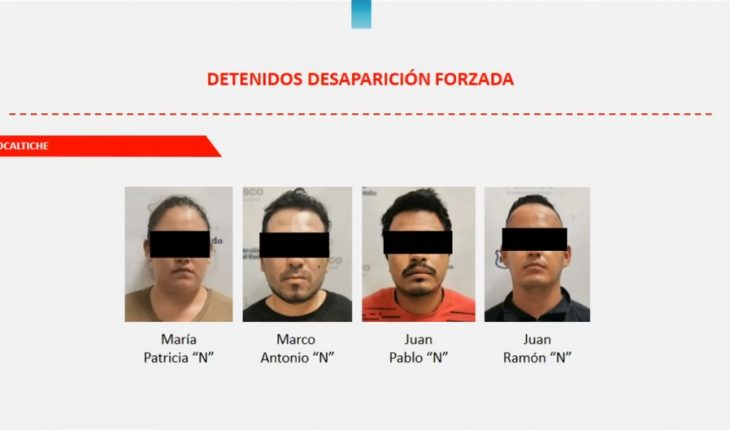 11 policemen arrested in Jalisco for the crime of enforced disappearance