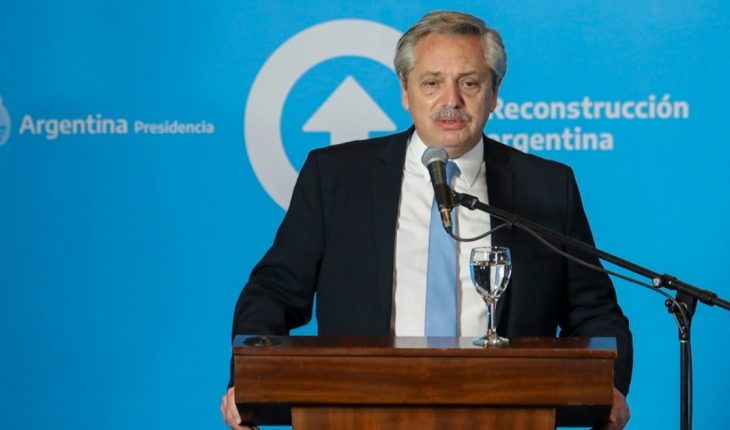 Alberto Fernandez announces a new phase of quarantine