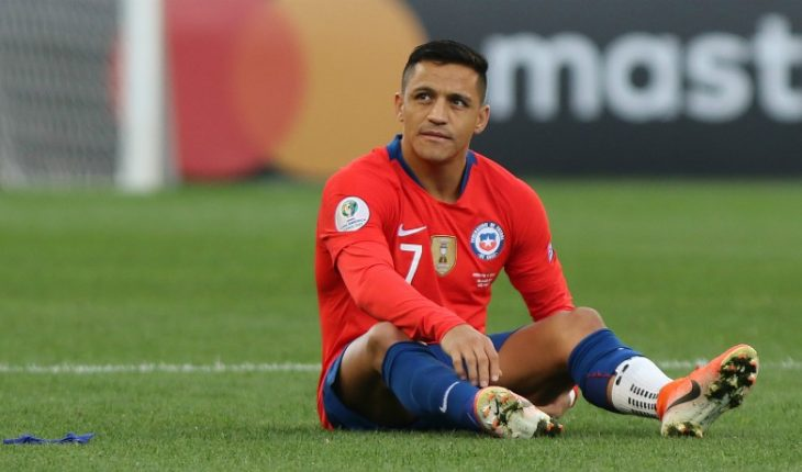 """Alexis Sanchez explained his sayings after the match against Colombia: """"At no time criticize anyone"""""""