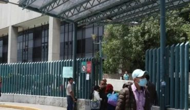 Almost filled CDMX's La Raza Hospital for Covid-19 regrowth