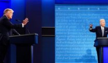 America's first presidential debate: disorder and uncertainty, new normality in politics