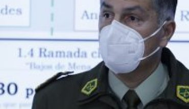 Bancada DC asks Piñera to remove General Rozas out of Carabineros' command