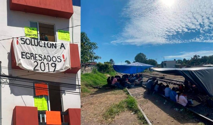 Base Power accuses corruption in assignment of places to normalist graduates in Michoacán