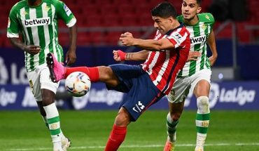 Betis de Pellegrini and Bravo failed to face Atletico Madrid of Simeone and Suarez