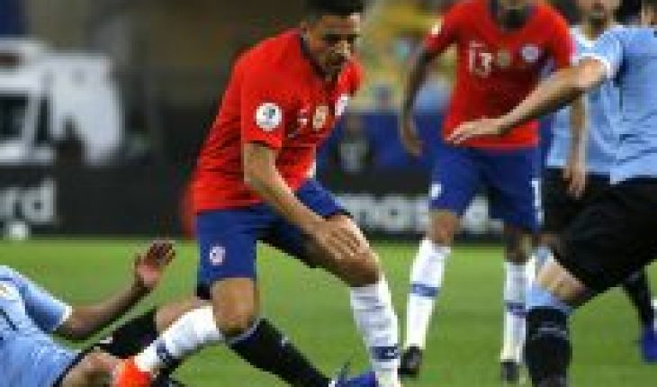 CNTV advances schedule of the television strip of October 8 per match between Chile and Uruguay