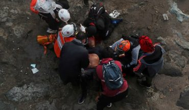 Chile commotion: protester was thrown from a bridge by carabinieri