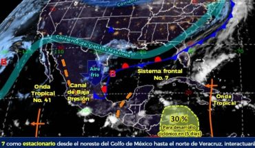 Climate in Mexico: rains will affect several states