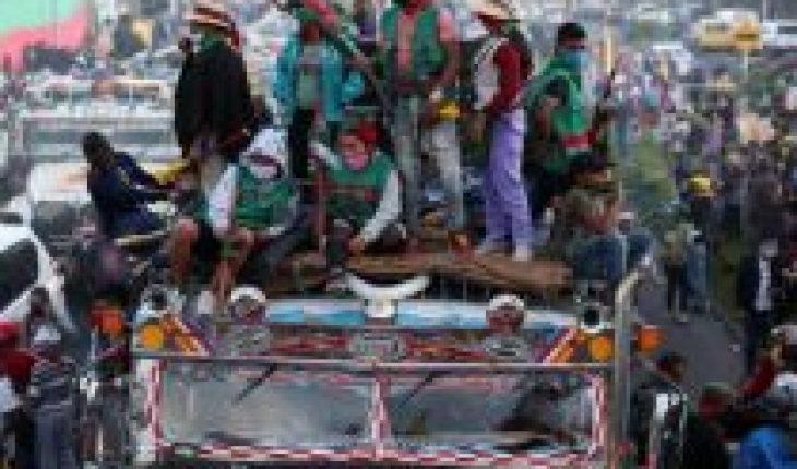 Colombia: Indigenous people arrive in Bogota to pressure Ivan Duque