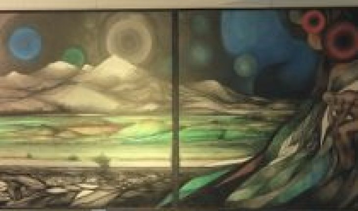 """Exhibition """"Sons of the Universe"""" by Fernando Daza in Space Art of the Civic Center of Lo Barnechea"""