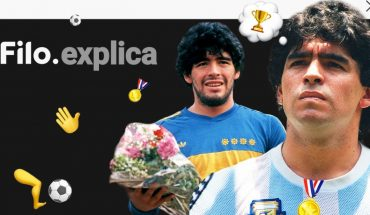 Filo, explains Diego Maradona: a 60-year-old legend