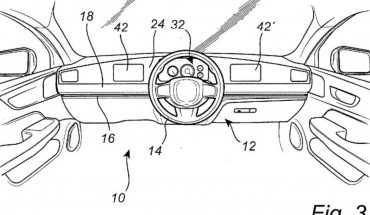 Goodbye to the fixed steering wheel: a system will allow you to move it from left or right