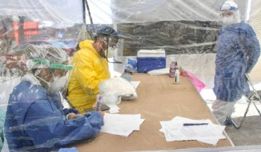 Health adds 135 deaths from COVID, Mexico accumulates 83 thousand 642 deaths