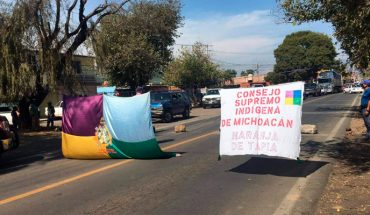 Indigenous Supreme Council blocks 4 roads in Michoacán