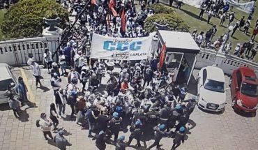 Julio Garro denounced an attempt to take the Municipality of La Plata
