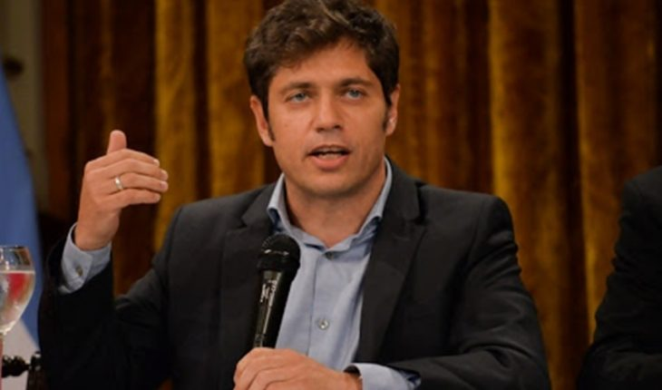 """Kicillof asked to """"not do marketing"""" with the return to school"""