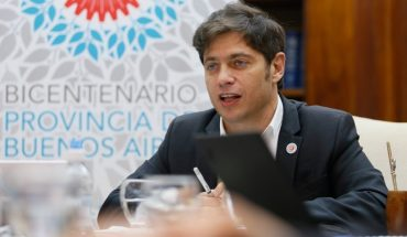 """Kicillof promised more openings if cases continued: """"They said the Province was going to collapse"""""""
