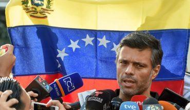 Leopoldo López left the Embassy of Spain and left Venezuela