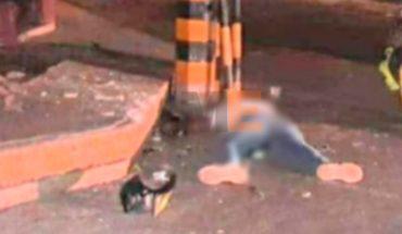 Motorcyclist dies when crashing into a pole in the Centro de Jacona area