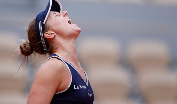 Nadia Podoroska is winning Roland Garros, the tournament that will mark her career