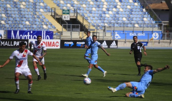 O'Higgins split points with Curicó on Giovagnoli's debut on the bench