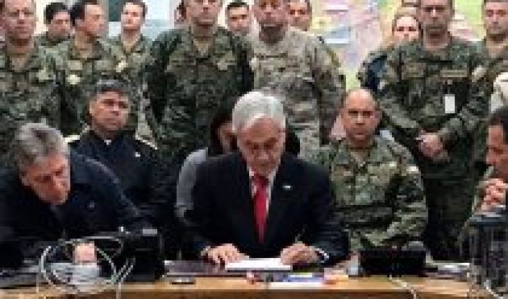 """Piñera's """"Zeta Plan"""": THE DINE report on the foreign threat that caused the President to talk about war"""