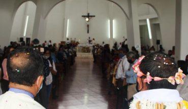 Positive to covid-19 Archbishop of Tulancingo, Hidalgo